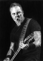 James Alan Hetfield - Metallica by MuppZA