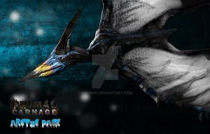 Pteranodon Arctic Pack Primal Carnage by HopaHo