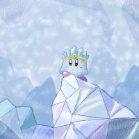 Ice Kirby by Sirometa