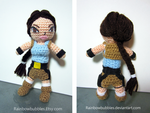 Commission- Lara Croft from Tomb Raider by Rainbowbubbles