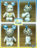 "Vinylmation 3"" Faith Angel Custom by StephanieCassataArt"