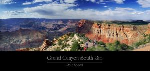 Grand Canyon South Rim by KoncalStudio