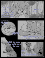 Meeting the Werehog pg. 21 by Mitzy-Chan