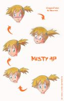 Misty Age Progression by locofuria