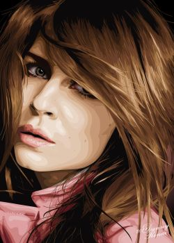 3rd Clemence Poesy Vector by babyonbored