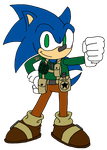 Soldier Sonic by JMK-Prime