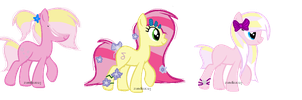 Pinkie X Fluttershy Ship Adoptable. Closed! by zandiax123