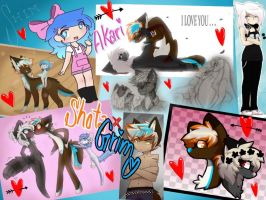 Collage of Love by Sunbeargirl