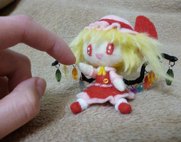 flandre and god's finger by 95n