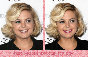 Retouch Kirsten Storms by theskyinside