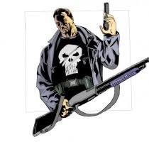 The Punisher by bellamyribeiro