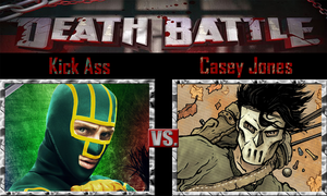 Kick Ass vs Casey Jones by SonicPal