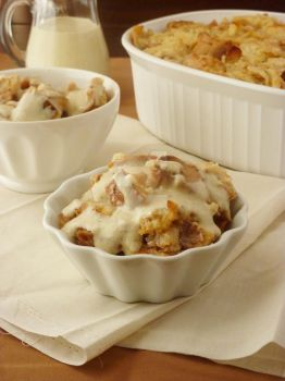 Apple Pie Bread Pudding by LoveandConfections