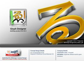 71Squared (Glyph Designer Icon concept design) by hoodaya