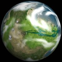 Terraformed Mars Spherical by Quanto