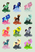 Inky adopts - 50 p. - OPEN by theWeaverofTales