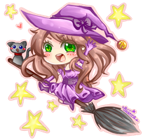 Prize Gift: Witch!Nasika by etto-sama