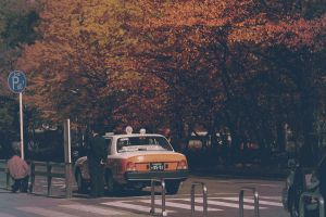 taxi in Kyoto by jyoujo