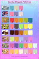Candy Inspired Color Palettes by StacyRaven