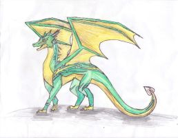 Request: Dragon OC by dolphin4dreamer