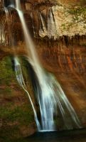 Lower Calf Creek Falls by La-Vita-a-Bella