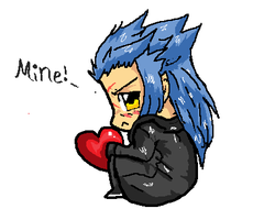 Saix..hording a heart by Pon3Splash
