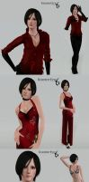 Ada Wong (Re6) by BadLady1995
