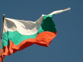 Bulgarian Flag Stock by happybg