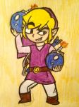 Purple Link by creativetomboy