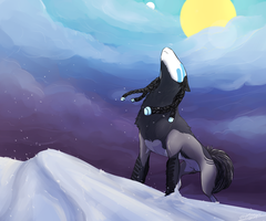 Silver Snow by T-Harley