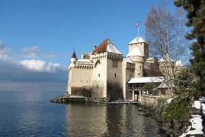 Switzerland, Chillon Castle by elodie50a
