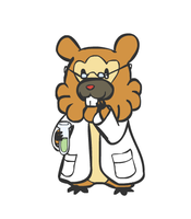 Bidoof the Scientist by sunnyfish