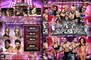 WWE Superstars June 2013 DVD Cover by Chirantha