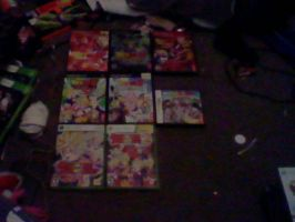 DBZ game collection by SuperShadiw1010