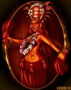 Polynesian Flava by EddieHolly