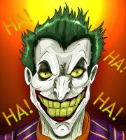 Joker Laugh by Wessel