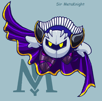 SSBB MetaKnight by PurpleRAGE9205