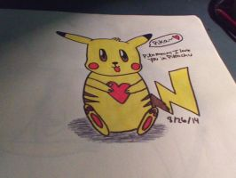 Pika means i love you by Nightwing430