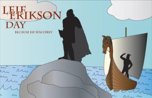 Leif Erikson Day by XCyberChase