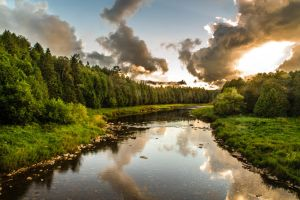 The beautiful Grand River by MastersImagingPhotos