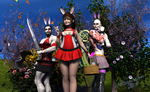 The Easter bunnies are coming to town ... RUN! by vwrangler