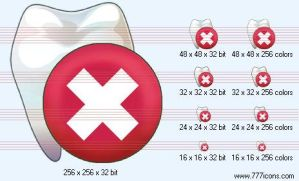 Remove tooth Icon by medical-icon-set