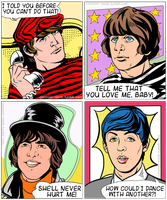 Pop art Beatles by common-boob