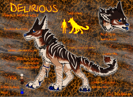 Delirious The Dredge Wolf by DeliriouStudios