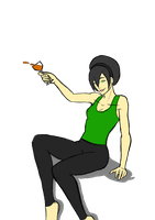 Toph Alcohol Random by bountyDBZ