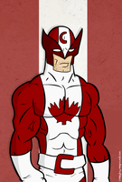 Wolverine: Captain Canada by creepyboy