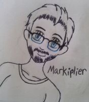 .:collab:. Markiplier icon by pinkraindrops03