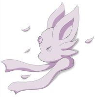 Espeon Doodle by asdfg21
