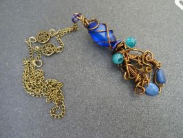 Witch of the Sea necklace 2 by Rouages-et-Creations