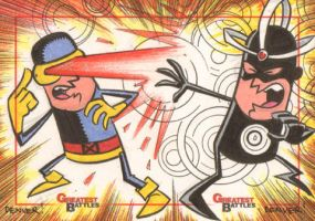 MGB: Cyclops vs. Havok by thecheckeredman